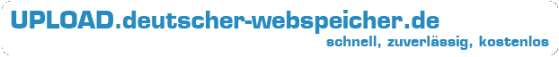 UPLOAD.deutscher-webspeicher.de Logo